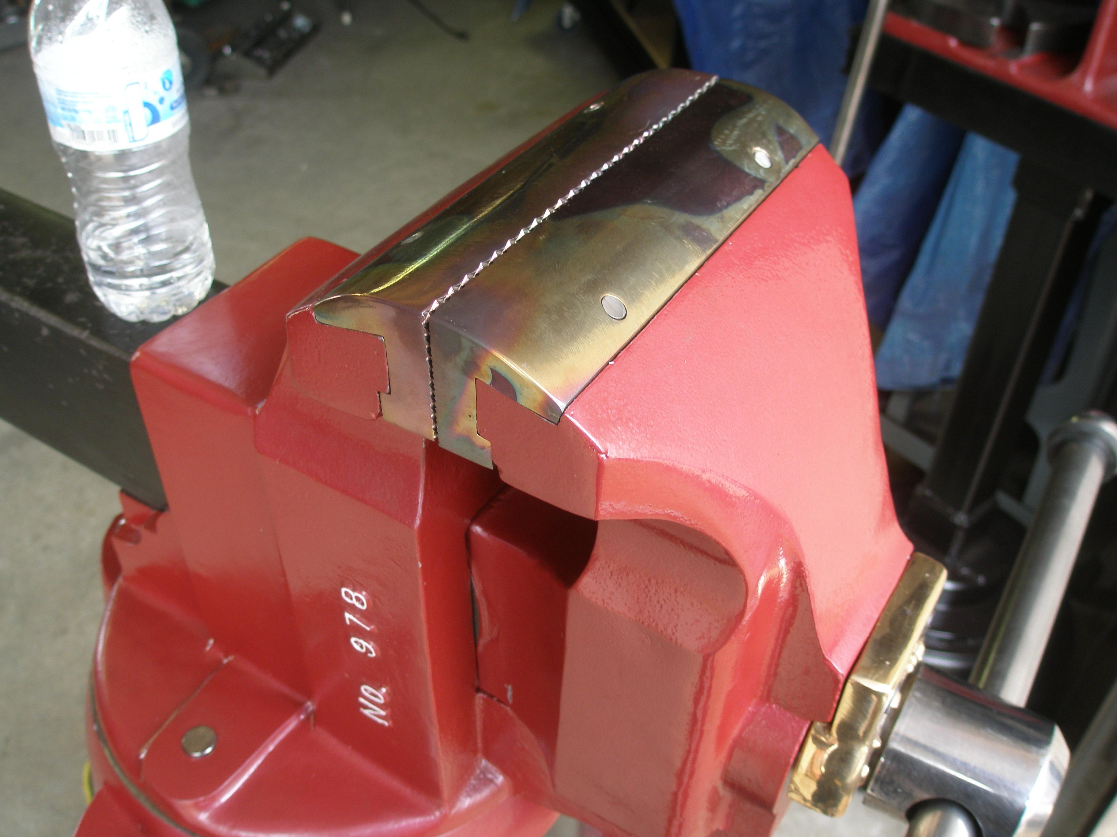 Wilton Vise Parts >> Chas Parker Jaws   Wilton Bullet Vise Parts